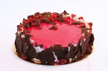 Céklás vörösboros csokitorta