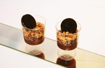 Csokoládés pohárkrém
